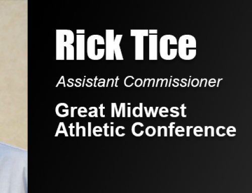 Academy Alumnus Rick Tice Working as Assistance Commissioner of Great Midwest Athletic Conference