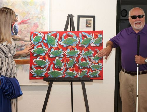 Eastern Shore Chamber Unveils Jubilee Festival Artwork in Event at United States Sports Academy