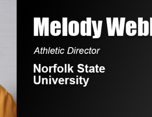 Melody Webb Uses Academy Education in Career as Director of Athletics at Norfolk State