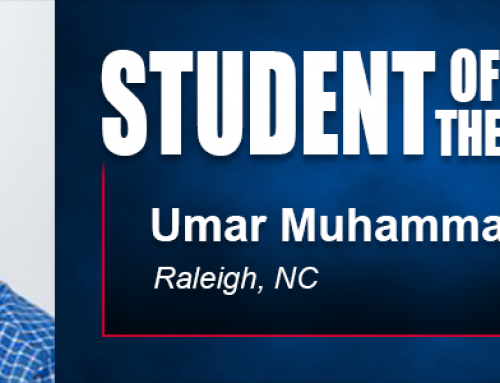 Student of the Month Umar Muhammad Makes Positive Impact in Work at St. Augustine's University
