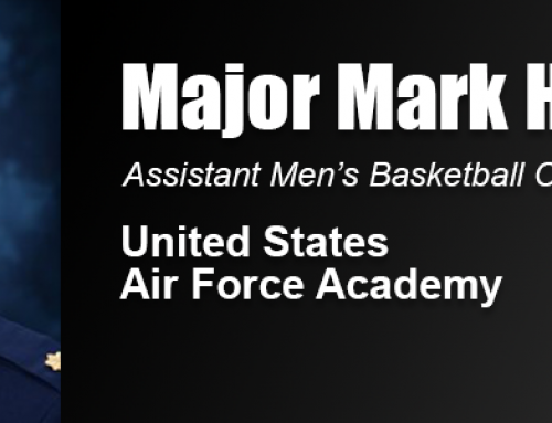 Academy Alumnus Maj. Marc Holum Promoted to Assistant Men's Basketball Coach at Air Force Academy