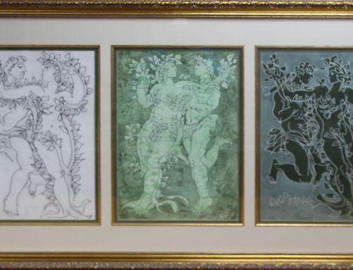 ASAMA Receives Original Hans Erni Series from Late Founding President's Estate