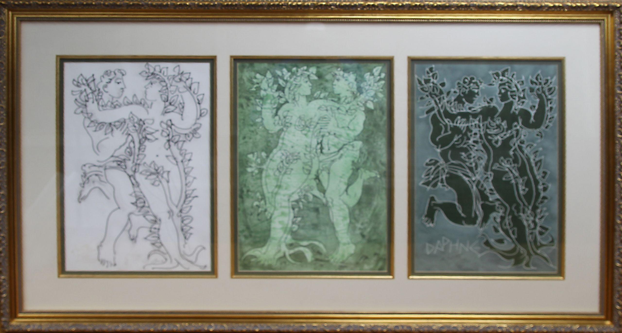 Daphne Series by Hans Erni