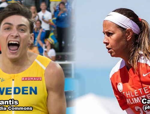 Duplantis, Osterman Named Academy September Athletes of the Month