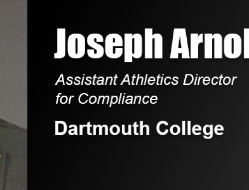 Academy Education with NCAA Compliance Focus Helps Joseph Arnold in Work at Dartmouth College