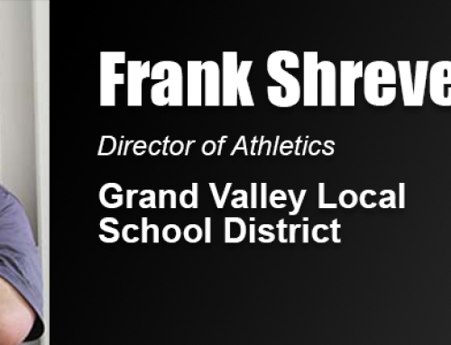 Frank Shreve Uses Academy Master's Degree to Give Back to Sports Community