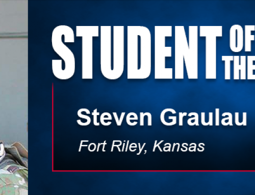 Academy Student of the Month Steven Graulau Eyes Career in Sport at Conclusion of Military Service