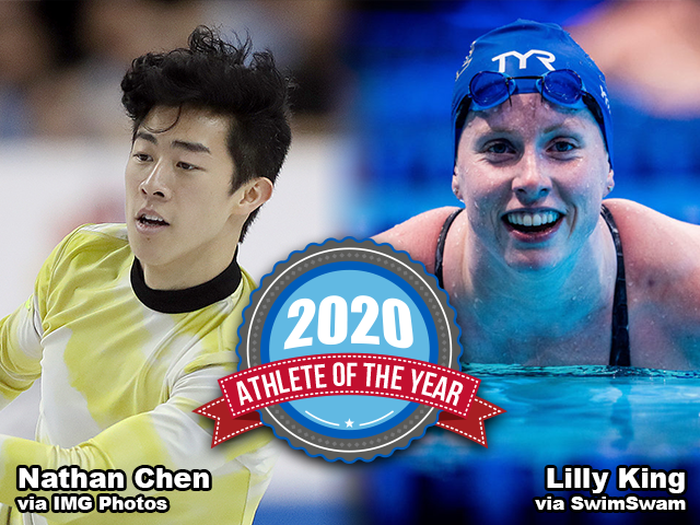AOY 2020 - Nathan Chen - Lilly King