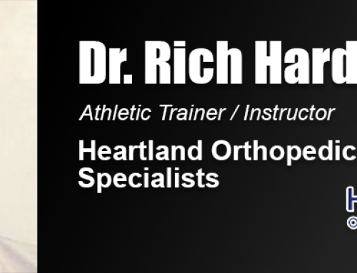 Help from Athletic Trainers Led Academy Alumnus Dr. Richard Hardy to Career in Sports Field