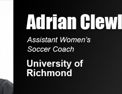 Soccer Coach Adrian Clewlow Says Academy Master's Degree Provided Thorough Education 'Without Walls'