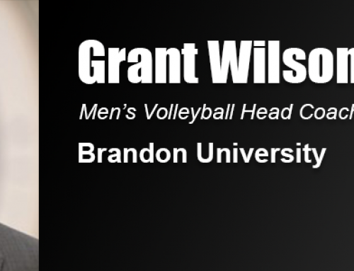 Academy Master's Degree Led to Grant Wilson's Coaching Position at Brandon University