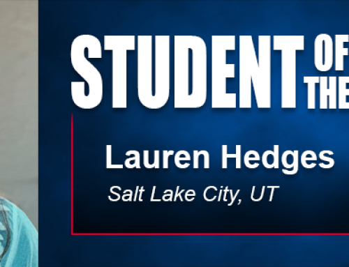 Student of the Month Lauren Hedges Says Academy Bachelor's Program Beneficial in Career and Life