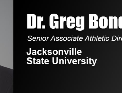 Dr. Greg Bonds, JSU Senior Associate AD and Academy Alumnus, Elected into Sports Hall of Fame