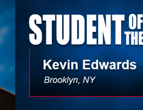Student of the Month Kevin Edwards Hopes to Open High Performance Volleyball Training Center with Academy Degree