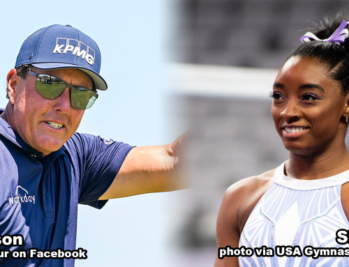 Phil Mickelson, Simone Biles Named Academy May Athletes of the Month
