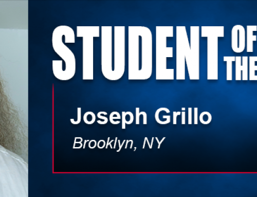 Flexible Scheduling Helps Student of the Month Joseph Grillo Navigate Academy Doctoral Program