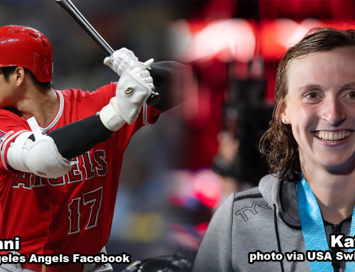 Shohei Ohtani, Katie Ledecky Named Academy June Athletes of the Month