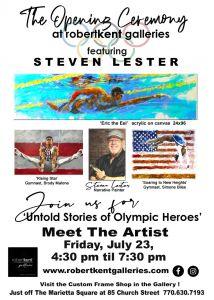Steven Lester Ceremony flyer