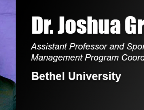 Dr. Joshua Greer Uses Academy Doctoral Degree in Work at Bethel University