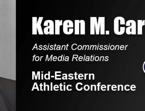 Academy Alumna Karen Carty Joins HBCU Conference Media Relations Staff