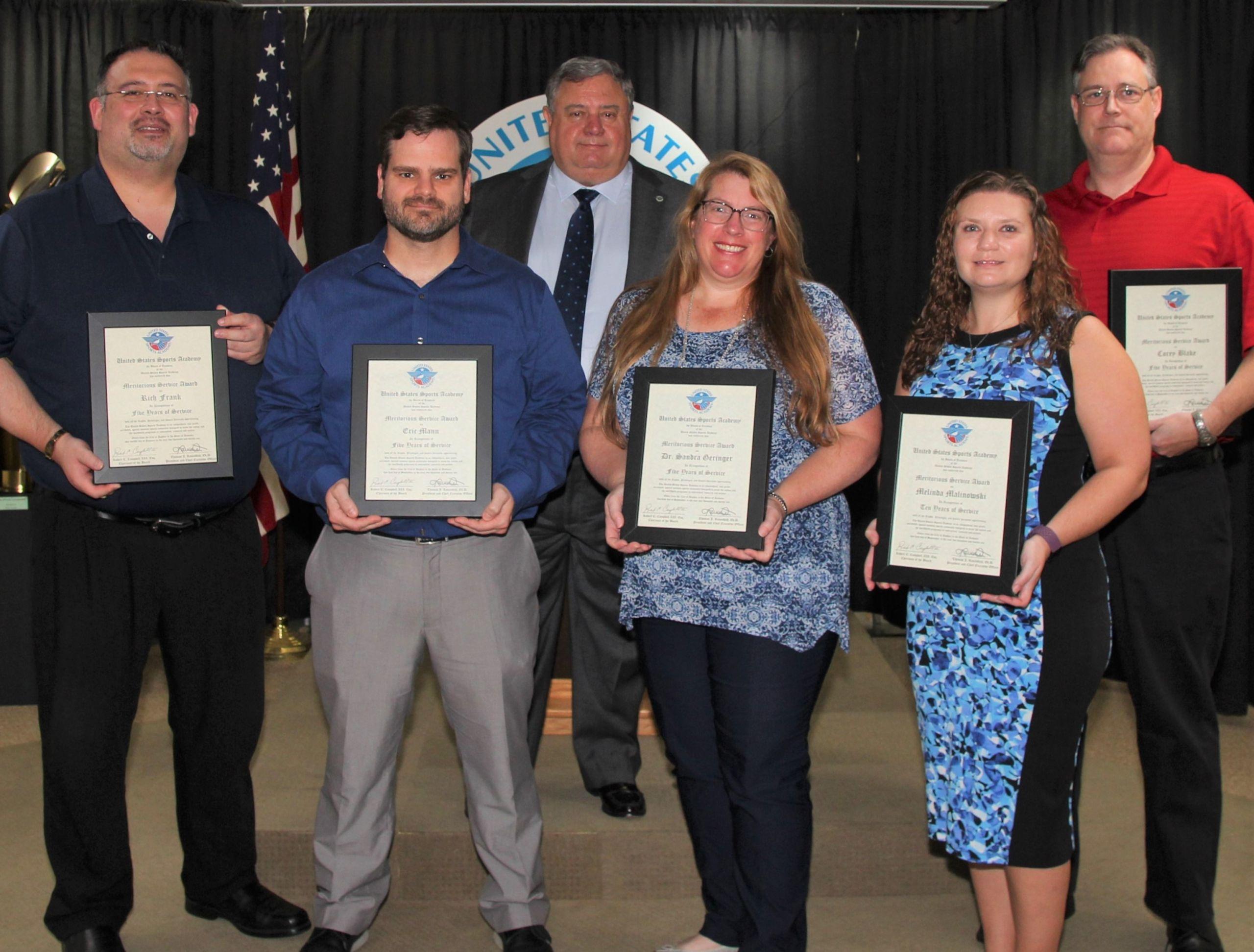 Academy 2021 Meritorious Service Awards