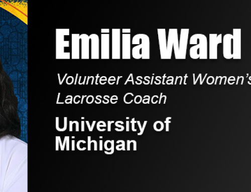 Academy Grad Emilia Ward Part of University of Michigan Women's Lacrosse Staff