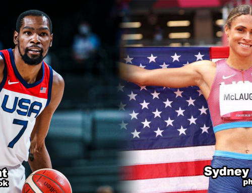 American Olympic Champions Durant and McLaughlin Named Academy August Athletes of the Month