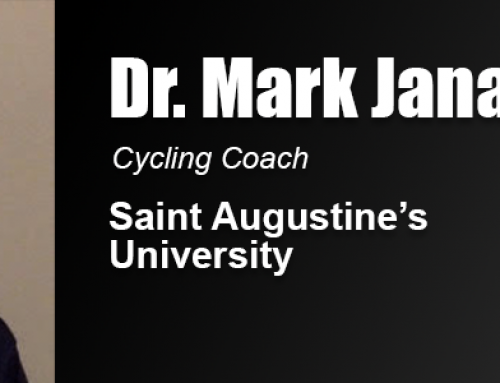2012 Alumnus of the Year Dr. Mark Janas is a Collegiate Cycling Coach, Inventor, Innovator and Writer
