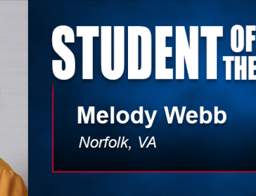 Alumni Connection Helps Student of the Month Melody Webb in Pursuit of Academy Doctoral Degree