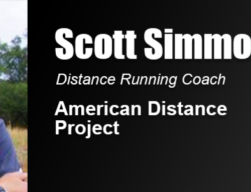 """Scott Simmons Credits """"Transformational"""" Academy Education in Career Coaching World Class Distance Runners"""